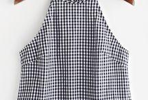 blusas con holanes