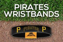 Pittsburgh Pirates MLB Wristbands and Fan Gear / Shop for Pittsburgh Pirates MLB wristbands and fan gear. Find your teams MLB bracelets and gear at Skootz! http://www.skootz.com/