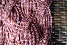 Knit scarfs, cowls and wraps / by Maggi Thrasher Burns