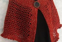 crochet shawls, bolero, capes