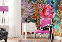 colour bohemian decor