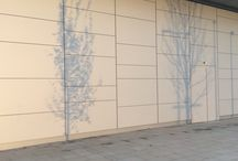 facade shadow