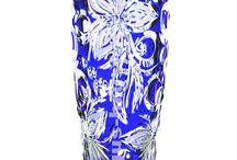 crystal vases / crystal vases