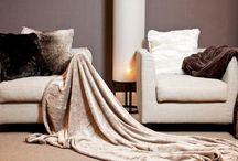 Pälspläd, filtar och textilier för offentlig miljö