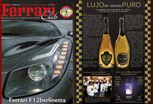 LUJO EN ESTADO PURO @ REVISTA FERRARI  / Vin Doré 24k - LUJO EN ESTADO PURO @ REVISTA FERRARI Club de España  http://www.vindore.com