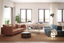 Living rooms / Living room inspiration by Eklund Stockholm New York