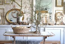 shabby chic romantic interiors inspirations