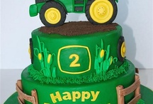 Finlay tractor cake