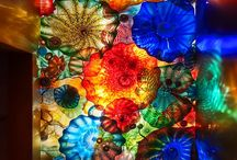 Beautiful Colored Glass and Stones / by Faithie Robertson