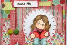 carte scrapbooking / mes cartes