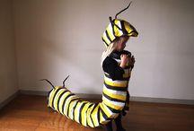 Caterpillar costumes