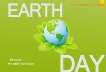 Earth Day / This board showcases the earth day importance.