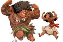 Мауи и Моана