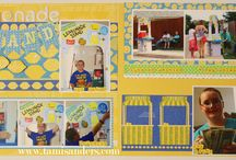 scrapbook layouts by tami sanders * paper crafter / personal scrapbook layouts...