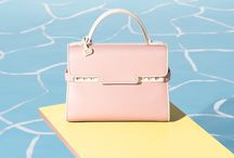 A Summer Fling with Delvaux SS17 / Delvaux's Spring-Summer 2017 Collection is soaking up the California sun in this David Hockney inspired shoot.