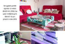 Bois de palettes - Tables de salon