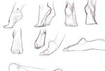clipart feet