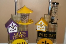 Solar Lamp Garden Posts / by MacSuds Soap Company