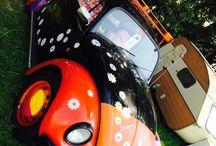 Emil / Mein VW Käfer 1600i Bj.'97 im Hippiestyl