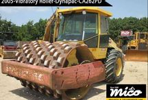 VIBRATORY ROLLERS / Find new and used Cat and Dynapac Rollers for Sale or Rent at Affordable Prices. Mico Equipment Has A Great Listing Of Road Rollers For Sale And Vibratory Rollers For Sale.