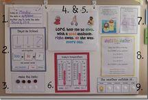 Calendar Ideas / Ideas for calendar time during school