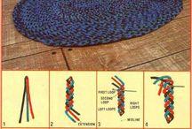 Teppich flechten