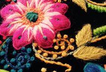 Brodera Peruianskt / Embroidery Peruvian