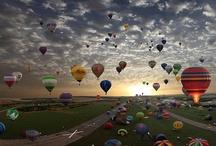 Up / hot air balloons day & night