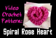 spiral hart with wool video