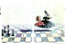 Alice in W:Art/Dmitry  Trubina / Alice in Wonderland  artist