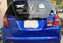 BABYMETAL_CAR / BABYMETALのデコ車