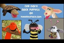Marionette Puppets (many-how to make)