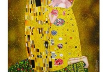 Gustav Klimt Paintings / Gustav Klimt was an Austrian symbolist painter, whose primary subject was the female body. His paintings, murals, and sketches are marked by a sensual eroticism, which is especially apparent in his pencil drawings.