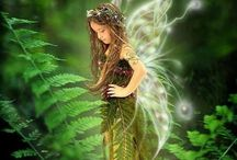 FAIRIES / Sprites / by Beth Kiger Mabe