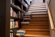 prateleiras escadas