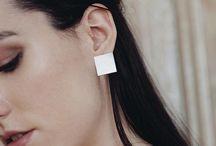 P L A T T I T U D E collection / minimal jewellery geometric jewellery modern jewellery jewellery design fashion minimal style