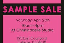 ChristinaBelle Sample Sale / ChristinaBelle Jewellery Sample Sale April 25th!