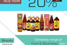 Be Cool in Deadly #Summer with Summer sales,Upto 20% Off #Food & #beverages Products at #Indiameds.