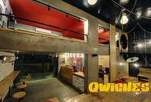 "Ambiance / The ambiance at ""Qwiches"" is sure to take you on a Roll!"