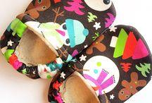 HauteMoccsdotcom: Organic Booties / Handmade organic booties for babies, kids & adults