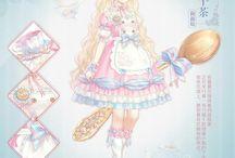 Anime Girls-Pink