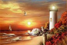 Peinture phare