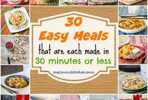 Easy and quick meals