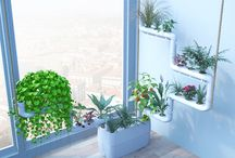 Supragarden / Vertical Hydroponic garden system for building Green Walls and Urban Food Gardens.