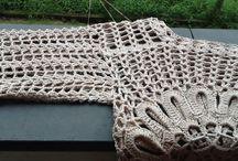 Minha Blusa Ana Maria / Detalhes da confecção das minhas blusas em croche