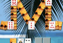 Waikiki Solitaire / Waikiki Solitaire is an exciting free game. The goal of the game is to place all cards with the same number