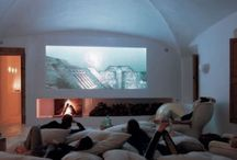 movie room. / by Amber Hopkins