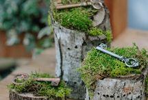 Wedding Style | Secret Garden / Ideas for a secret garden styled wedding