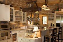 Alaska Cabin Kitchen