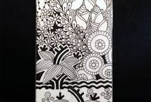 doodle patterns / pattern art